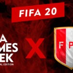 Exhibición de FIFA 20 organizado por la FPF en Lima Games Week Digital Edition