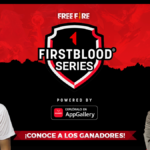 Conoce a los 3 ganadores de la FirstBlood Series pw by Huawei Mobile AppGallery: Free Fire