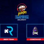 iResT Team y Cone Thugs son los finalistas de la Pringles Gaming Valorant