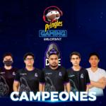 Cone Thugs se convierte en el campeón de la Pringles Gaming Valorant