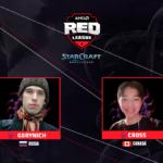 Cross y Gorynich son los primeros clasificados a las semifinales de la AMD Red League ft. StarCraft: Remastered