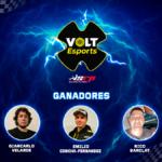 Giancarlo Velarde es el campeón de la Volt Esports Sim Racing Perú